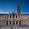 Front of the Basilica of Santa Maria Maggiore