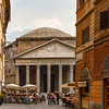 Pantheon and shops