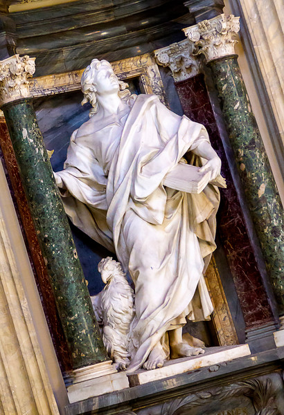 St. John, by Rusconi (Archbasilica San Giovanni in Laterano)