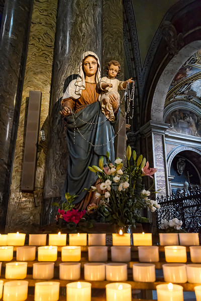 Small church of Santa Maria Sopra Minerva