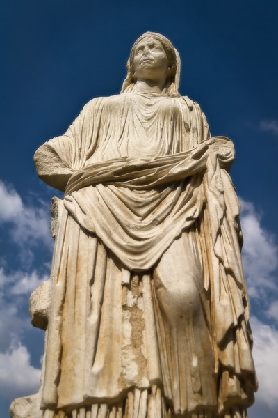 Statues in the Roman Forum