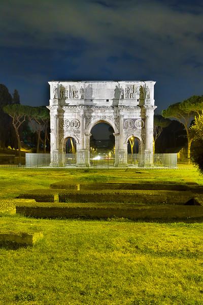 Arch of Constantine, near Colosseum