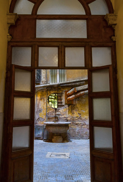 side streets of Rome