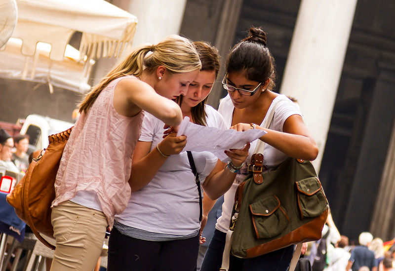 Fellow Rome tourists (near Pantheon)