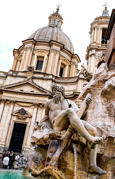 Fontana dei Quattro Fiumi, Piazza Navona