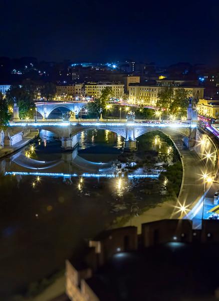 Tiber River, from Castel sant'Angelo