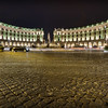 Fountains by night at Piazza della Repubblica