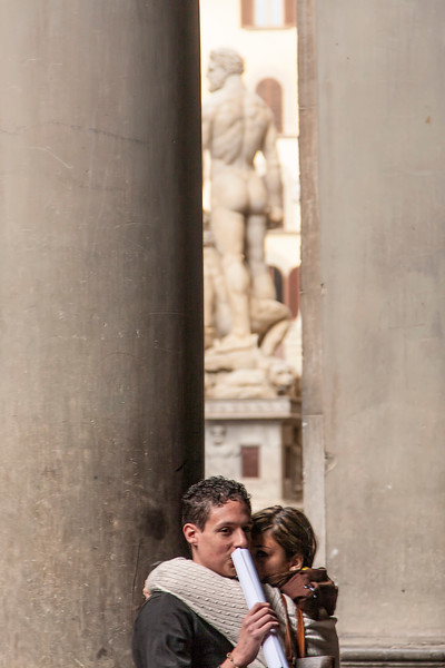 The romance abounds in Florence