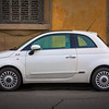 The modern Fiat Cinque Cento (500) is looking pretty good.
