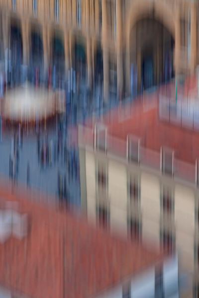 Piazza della Repubblica, in abstract