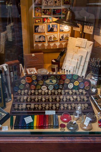"""The nostalgic """"cartoleria""""; the stationary shop."""