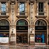 Prada store, inside the Galleria Vittorio Emanuele II