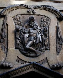 Door Frieze, Chiesa di Santa Trinita, Firenze