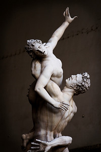 Rape of the Sabine Women, Loggia della Signoria, Firenze