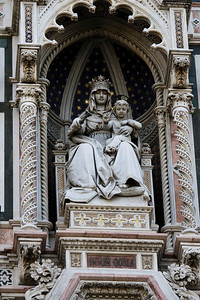 Mary Enthroned, Basilica di Santa Maria del Fiore, Firenze