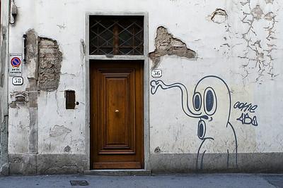 Graffiti, Via Della Scala, Firenze