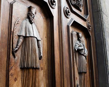 Door Carving, Chiesa di Santa Trinita, Firenze