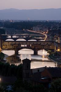Ponte Vecchio at Dusk, Firenze