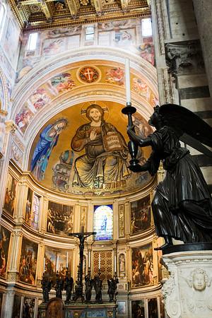 Christ in Majesty, Mosaic, Duomo di Santa Maria Assunta, Pisa