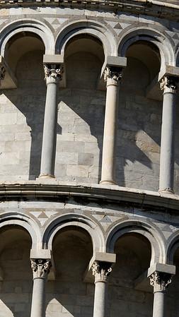 Facade, Torre pendente di Pisa, Pisa