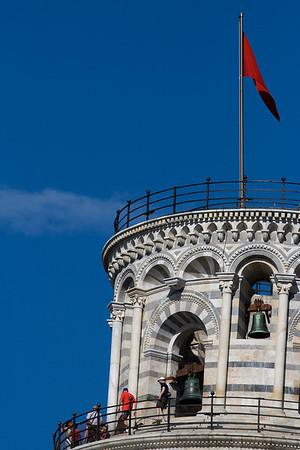 Torre pendente di Pisa, Pisa
