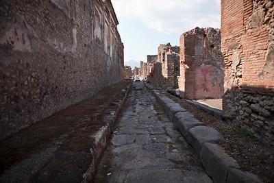Alley, Pompeii
