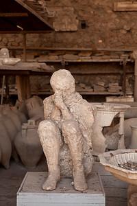 Victim II, Pompeii