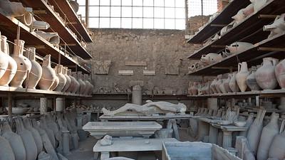 Victim, Pompeii