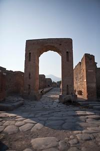 Vesuvius Framed, Pompeii