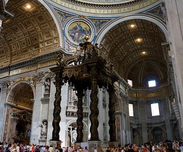 Baldachin, The Altar, Vatican