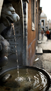 Fountain, Via della Conciliazione, Roma