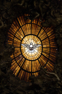 Stained Glass Dove, Vatican