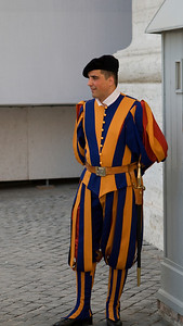 The Swiss guards, Vatican