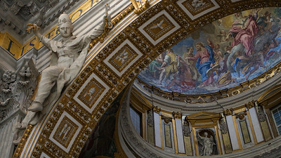 Arch and dome, Vatican