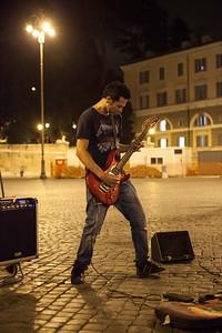 Rock, Piazza del Popolo, Roma