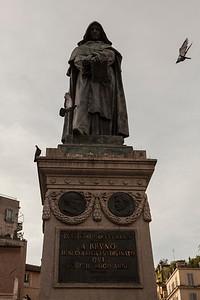 Heretic, Campo di Fiori, Roma