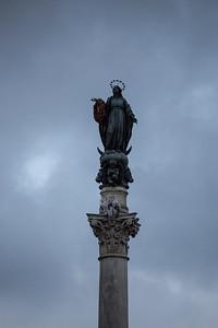 Colonna dell'Immacolata, Piazza di Spagna, Roma