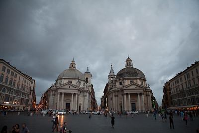 Unclean Symmetry, Piazza del Popolo, Roma