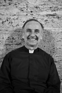 Father Jose Maria Ramirez, Piazza del Popolo, Roma