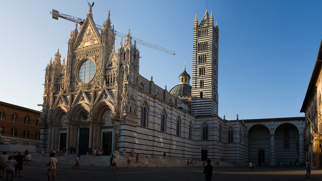 Siena Cathedral<br /> <br /> 4 shot hand held panorama