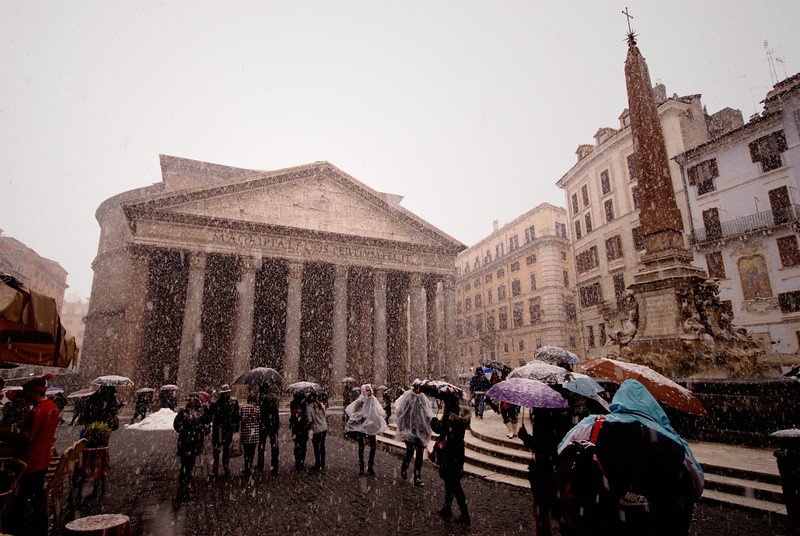 Snowy Pantheon