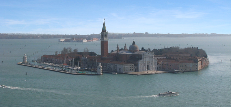 San Giorgio Church, From the Campanile San Marco