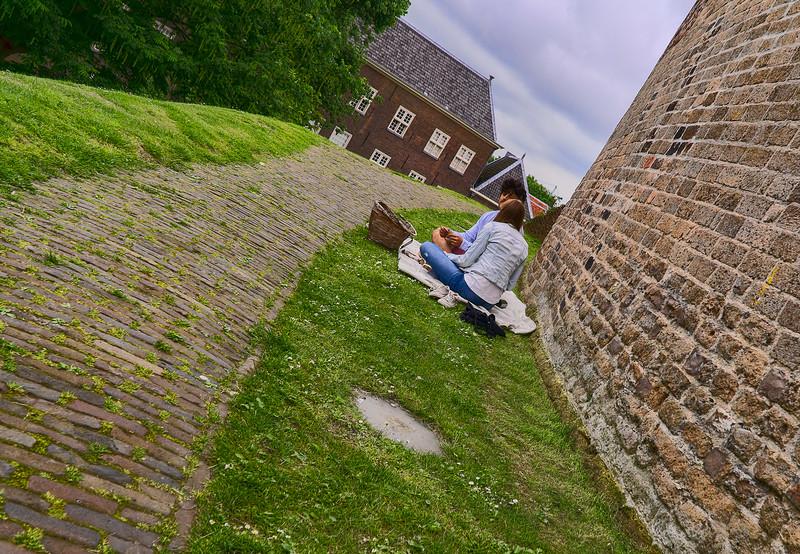 at Burcht van Leiden