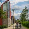 modern Leiden outskirts