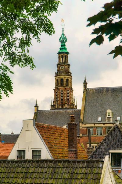 view from Burcht van Leiden