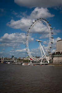 London Eye, Thames River.