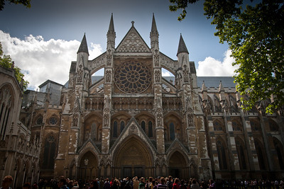 Westminster Abbey - largest indoor graveyard.  At times, quite moving; at others, a bit creepy, if we're honest. London