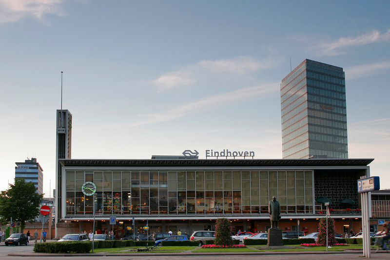 Eindhoven train station... A common site for employees who visit our Netherlands office.