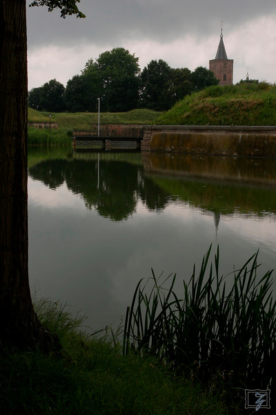 "Part of the inner town's fortified wall.<br><br><span class=""subcaption"">It was quite overcast; the exposure of this picture is an accurate rendition.</span>"