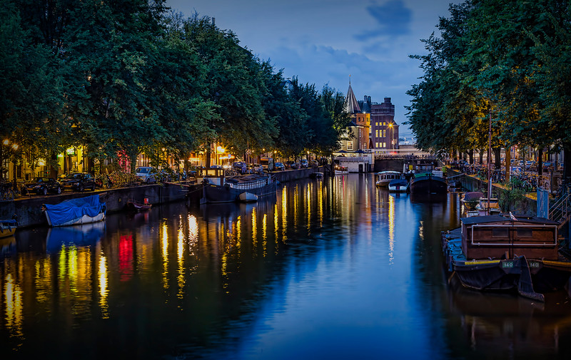 Along the canals, Amsterdam